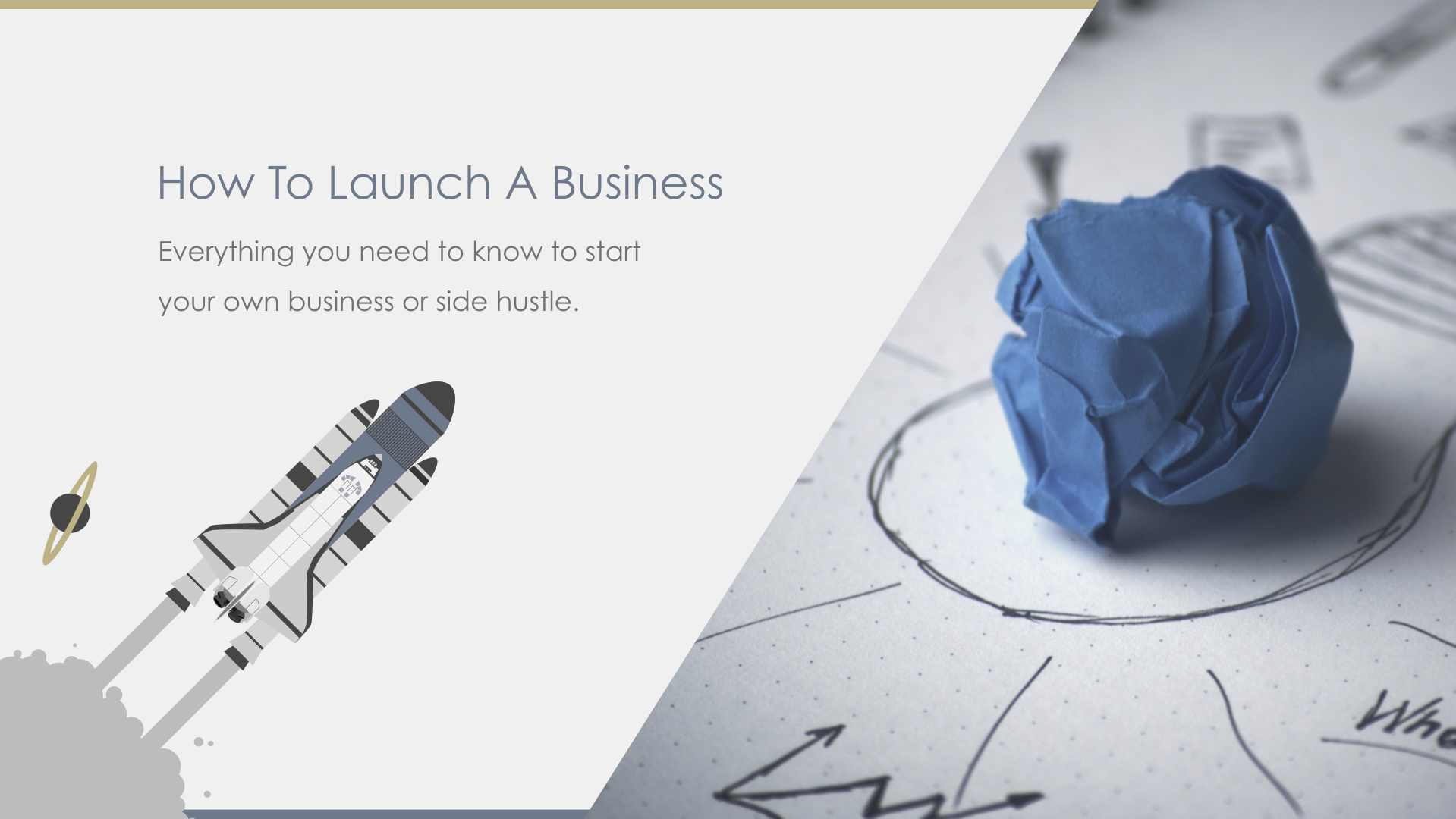 How To Launch A Business Class | The Blessed Business