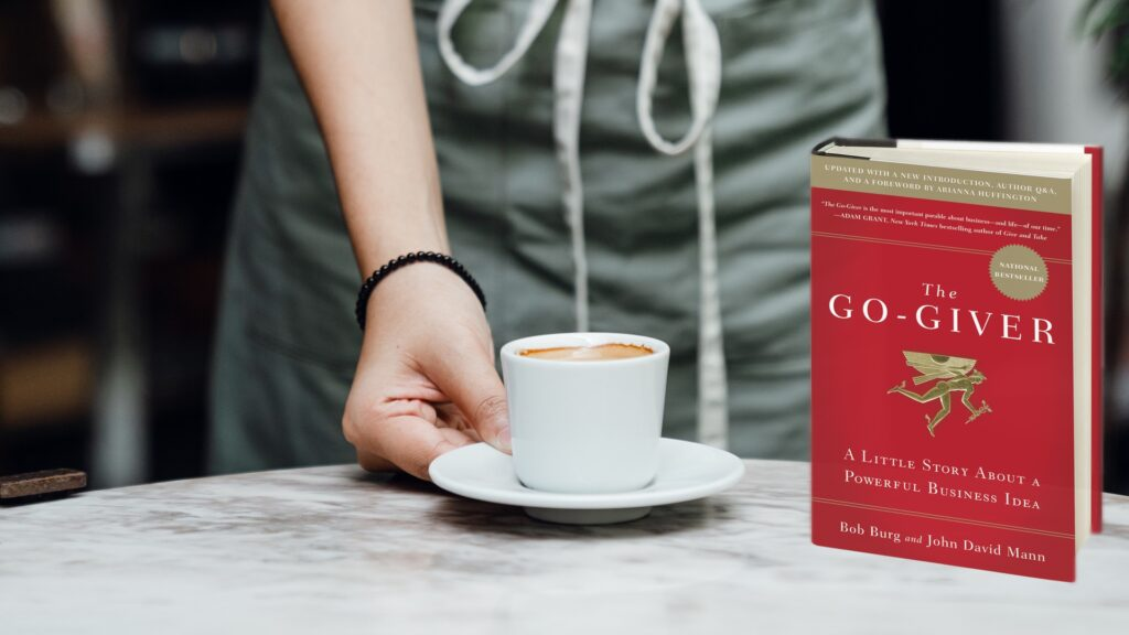 The Go-Giver Book Cover | Rachel's Famous Coffee