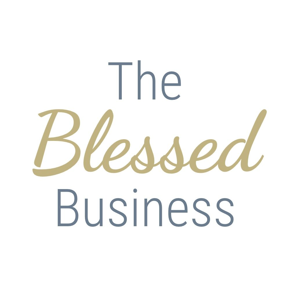 The Blessed Business Logo Vertical Square JPG